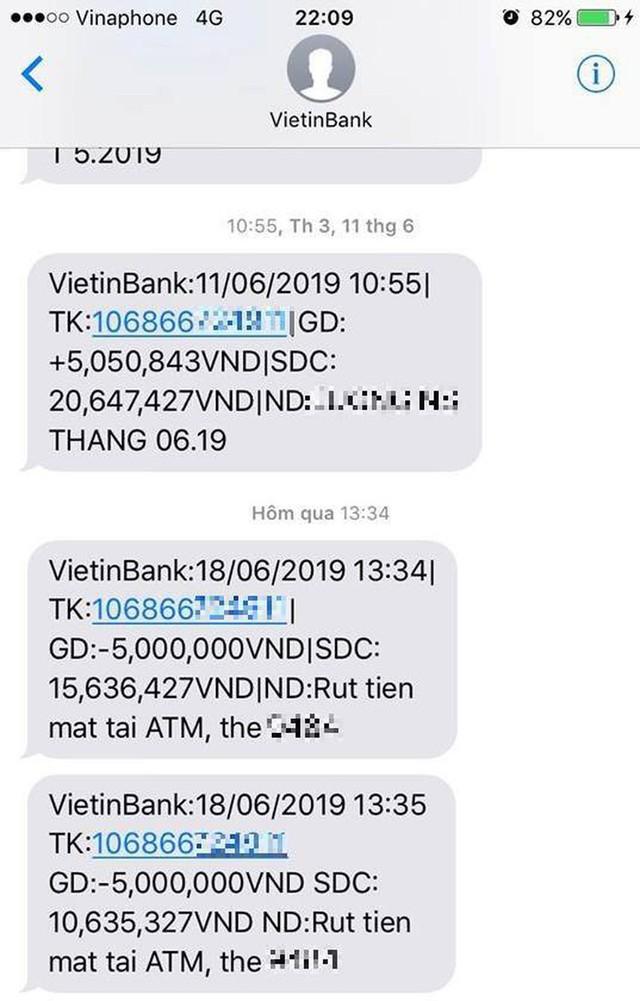 Chủ thẻ ATM mỗi tháng ting ting 1 lần nhận lương, tỷ lần trừ phí - Ảnh 3.