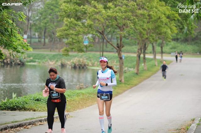 Hoa hậu Nguyễn Thu Thủy: Chạy marathon thì không bốc phét được! - Ảnh 12.