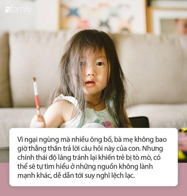 Mẹ ơi, con sinh ra từ đâu? - câu trả lời của phụ huynh có thể ảnh hưởng tới cuộc đời của con trẻ, hãy cẩn trọng! - Ảnh 1.