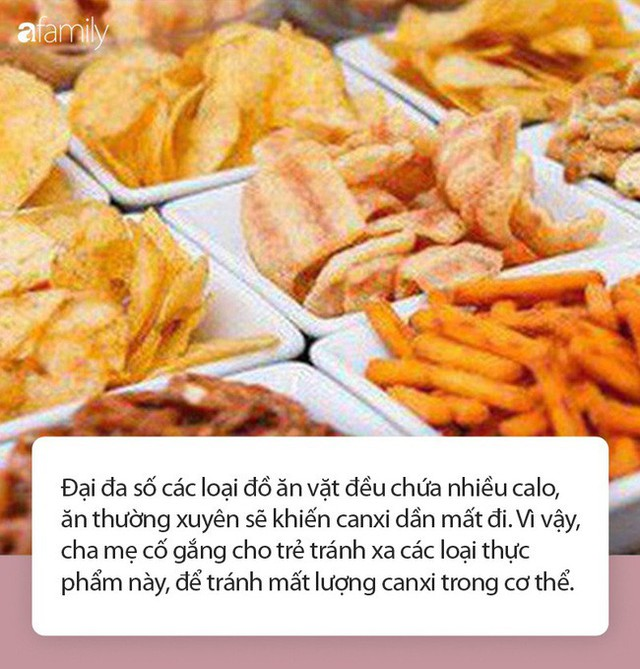 3 loại thực phẩm không nên cho trẻ ăn nhiều, bởi chúng là thủ phạm lấy đi canxi khiến trẻ không phát triển chiều cao - Ảnh 1.