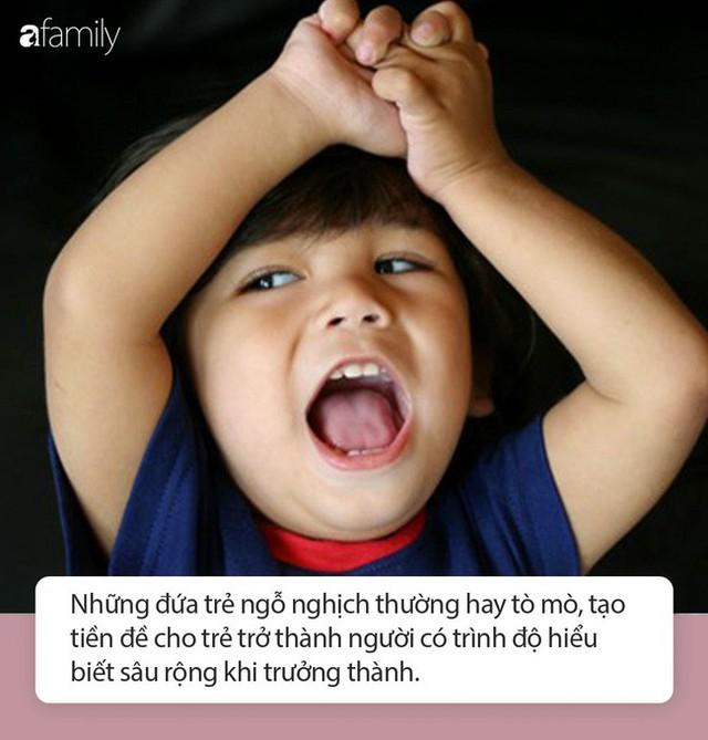 9 lý do minh chứng những đứa trẻ nghịch ngợm, bướng bỉnh lại thành công và hạnh phúc hơn những trẻ ngoan ngoãn - Ảnh 1.