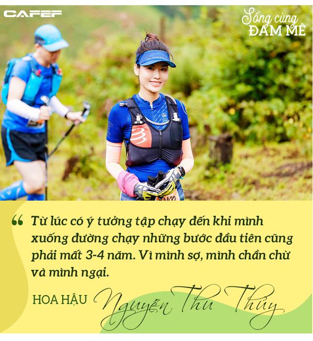 Hoa hậu Nguyễn Thu Thủy: Chạy marathon thì không bốc phét được! - Ảnh 2.