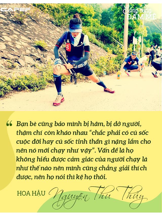 Hoa hậu Nguyễn Thu Thủy: Chạy marathon thì không bốc phét được! - Ảnh 10.