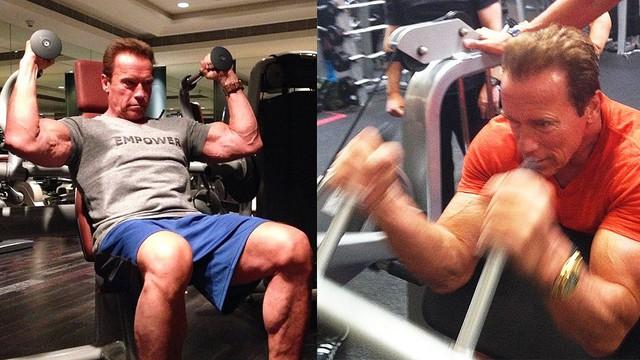Kẻ hủy diệt Arnold Schwarzenegger 72 tuổi vẫn khỏe phơi phới, tất cả là nhờ chế độ ăn uống và tập luyện siêu kỷ luật này - Ảnh 3.