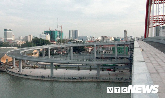 Cận cảnh cây cầu độc đáo hình cánh chim biển sắp thông xe ở Hải Phòng - Ảnh 7.