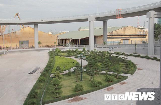 Cận cảnh cây cầu độc đáo hình cánh chim biển sắp thông xe ở Hải Phòng - Ảnh 9.