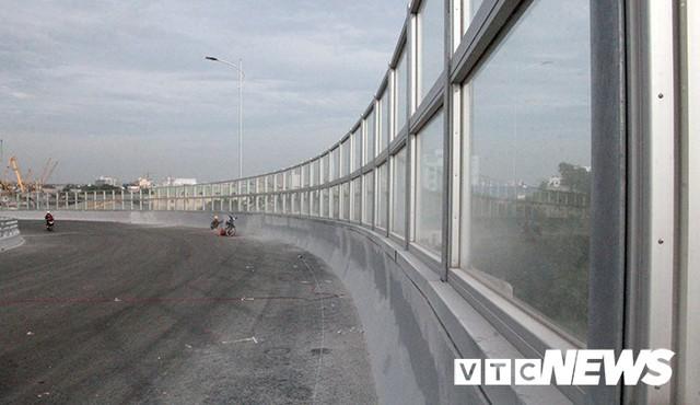 Cận cảnh cây cầu độc đáo hình cánh chim biển sắp thông xe ở Hải Phòng - Ảnh 10.