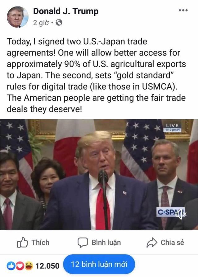 Công bố đặc biệt từ Donald Trump, dồn Trung Quốc vào thế khó - Ảnh 1.