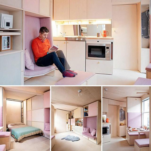 Những căn hộ siêu nhỏ, cực chất nhìn mê liền nhờ thiết kế thông minh - Ảnh 5.