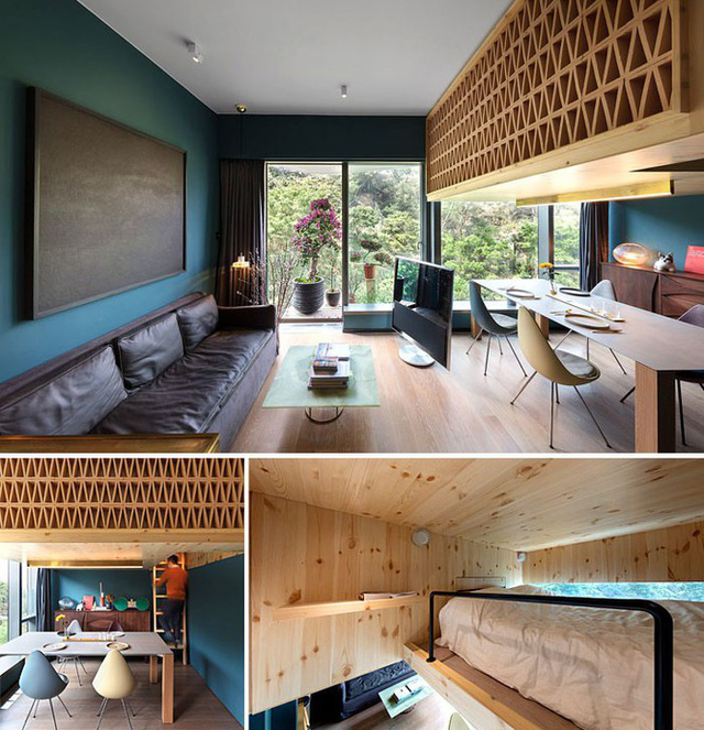 Những căn hộ siêu nhỏ, cực chất nhìn mê liền nhờ thiết kế thông minh - Ảnh 6.