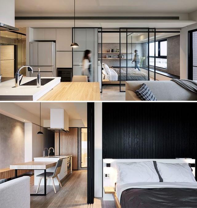 Những căn hộ siêu nhỏ, cực chất nhìn mê liền nhờ thiết kế thông minh - Ảnh 8.