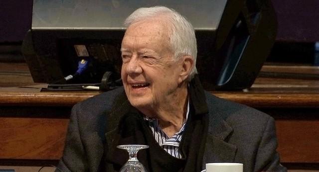 Cựu Tổng thống Jimmy Carter nói mừng khi đảng Dân chủ điều tra luận tội ông Trump - Ảnh 1.