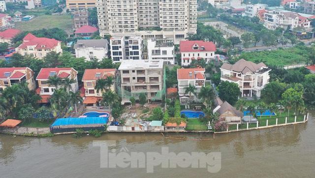 Cận cảnh biệt thự, chung cư cao cấp Thảo Điền bức tử sông Sài Gòn - Ảnh 2.
