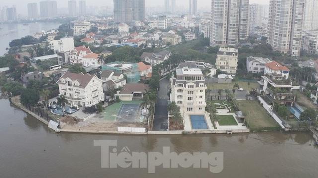 Cận cảnh biệt thự, chung cư cao cấp Thảo Điền bức tử sông Sài Gòn - Ảnh 11.