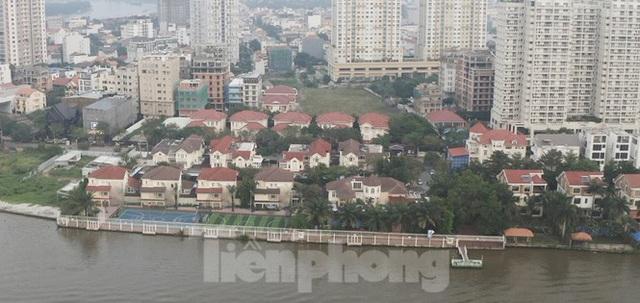 Cận cảnh biệt thự, chung cư cao cấp Thảo Điền bức tử sông Sài Gòn - Ảnh 14.