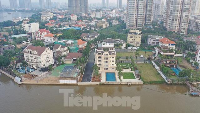 Cận cảnh biệt thự, chung cư cao cấp Thảo Điền bức tử sông Sài Gòn - Ảnh 3.