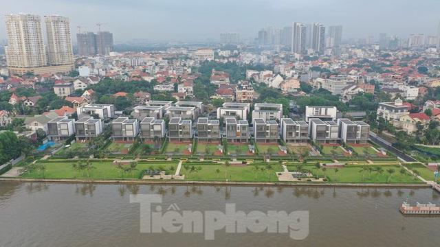Cận cảnh biệt thự, chung cư cao cấp Thảo Điền bức tử sông Sài Gòn - Ảnh 6.