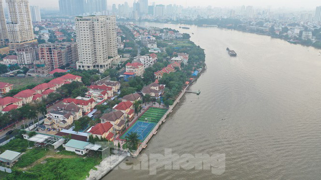 Cận cảnh biệt thự, chung cư cao cấp Thảo Điền bức tử sông Sài Gòn - Ảnh 7.