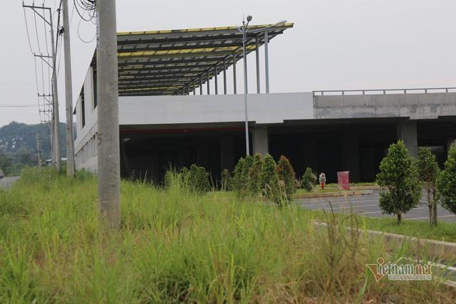 Cỏ dại um tùm bên trong bến xe hiện đại nhất Đông Nam Á của Sài Gòn - Ảnh 8.