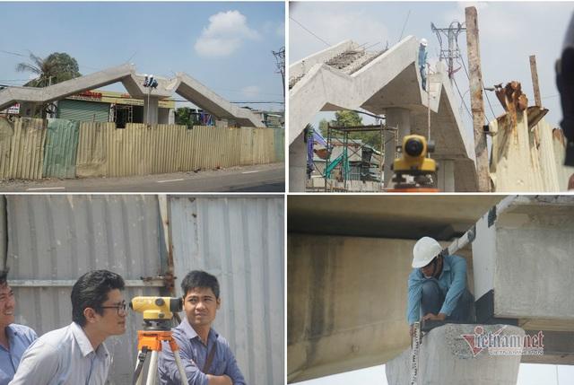 Kết quả bất ngờ chiều cao cầu bộ hành bị xe container kéo sập ở Sài Gòn - Ảnh 2.
