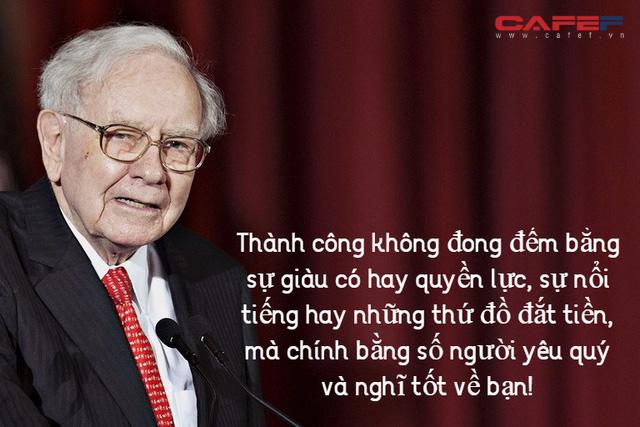 Warren Buffett: Ba quyết định quan trọng phân định rạch ròi người thành công và kẻ mộng mơ hão huyền, bạn làm được bao nhiêu? - Ảnh 2.