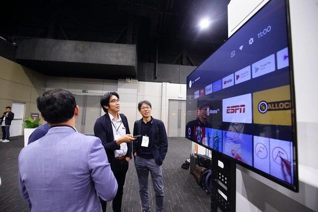 TV thông minh 55 inch của Vsmart lộ ảnh thực tế: chạy Android TV, điều khiển bằng giọng nói, không kém cạnh Samsung, LG hay Sony - Ảnh 3.