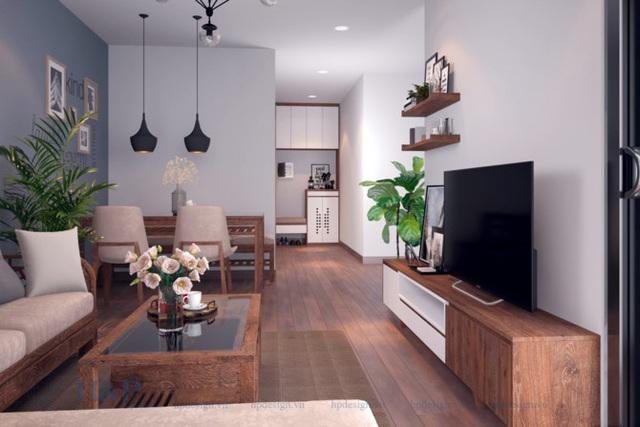 Đầu tư 187 triệu cho nội thất căn hộ 86m2 đơn giản, đẹp và hiện đại - Ảnh 1.