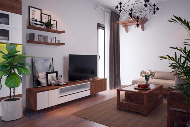 Đầu tư 187 triệu cho nội thất căn hộ 86m2 đơn giản, đẹp và hiện đại - Ảnh 2.