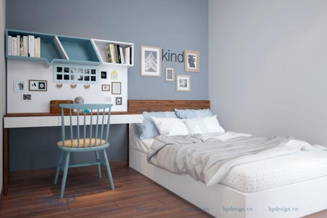 Đầu tư 187 triệu cho nội thất căn hộ 86m2 đơn giản, đẹp và hiện đại - Ảnh 7.