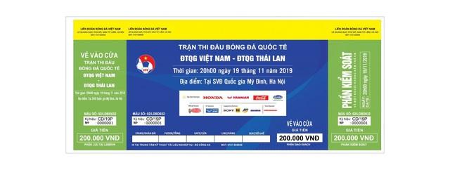 Phân biệt vé giả trận đấu giữa Việt Nam vs Thái Lan: Cẩn thận tiền mất tật mang - Ảnh 2.