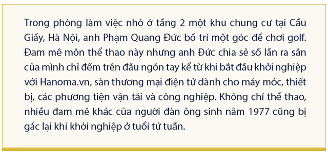 Nhà sáng lập sàn TMĐT máy công nghiệp Hanoma.vn: Tôi thà để lại cho con sản phẩm có ích cho xã hội còn hơn vài cái nhà, bán đi tiêu là hết - Ảnh 1.