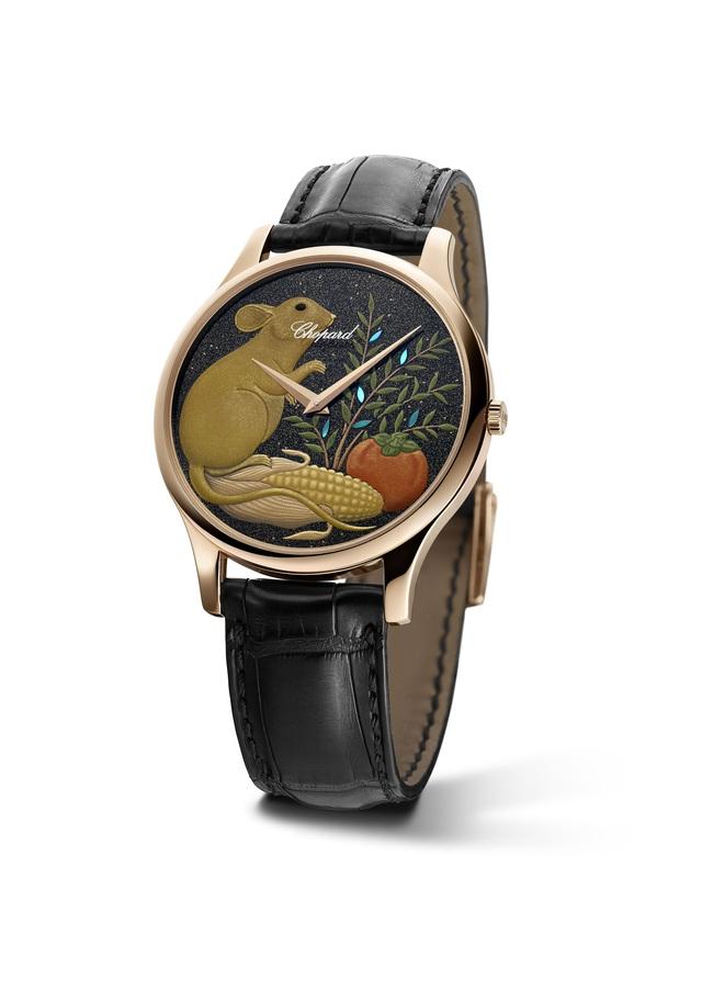 Chopard đem tới đồng hồ vàng hồng sơn mài năm Canh Tý bản giới hạn 88 chiếc dành riêng cho giới thượng lưu - Ảnh 1.