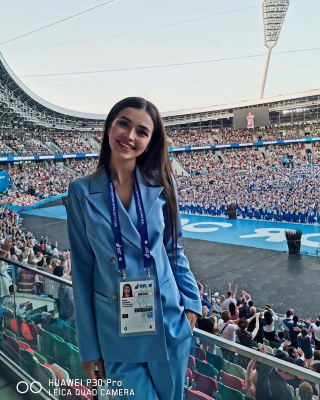 Nhan sắc đỉnh cao của nữ nghị sĩ trẻ nhất quốc hội Belarus: Từng lọt vào top 5 Miss World 2018, đã đẹp lại có thành tích học tập khủng! - Ảnh 5.
