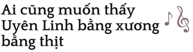 """Uyên Linh: """"Sau 10 năm đi hát, tôi tự hào vì mình chỉ sống bằng mỗi việc cầm mic"""" - Ảnh 1."""