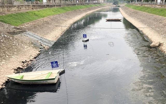 150 tỷ đồng bơm nước sông Hồng rửa Tô Lịch: Có khả thi không? - Ảnh 1.