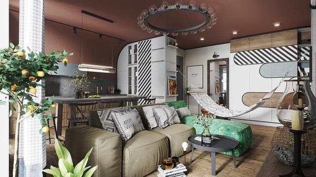 Vẻ đẹp khác lạ của căn chung cư có cách trang trí không giống ai - Ảnh 1.