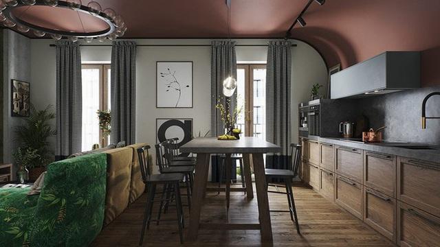 Vẻ đẹp khác lạ của căn chung cư có cách trang trí không giống ai - Ảnh 2.