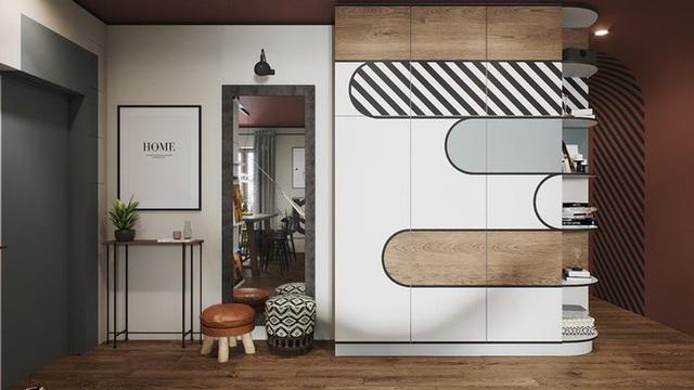 Vẻ đẹp khác lạ của căn chung cư có cách trang trí không giống ai - Ảnh 5.