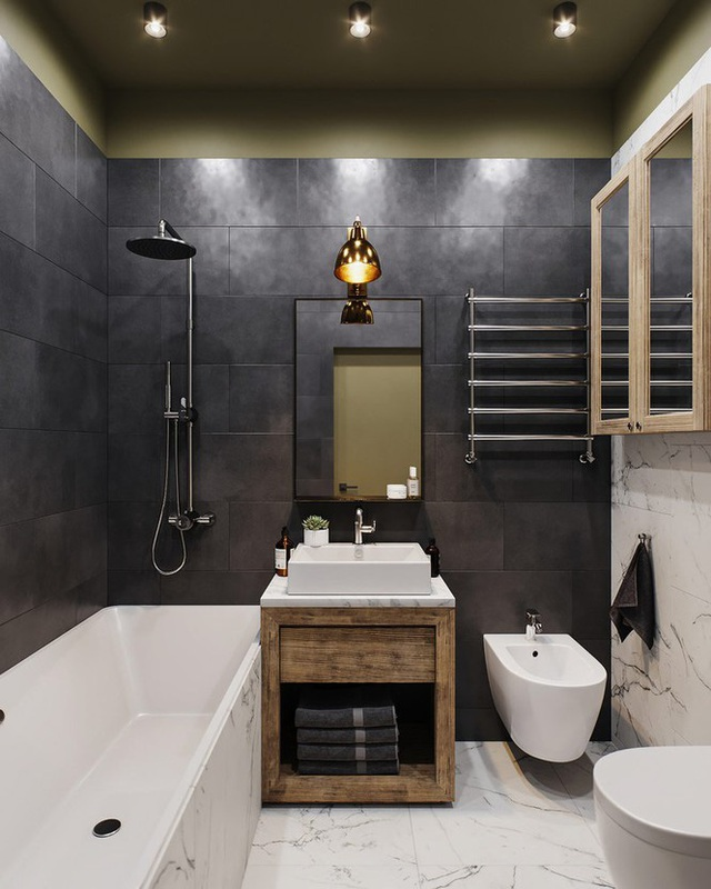 Vẻ đẹp khác lạ của căn chung cư có cách trang trí không giống ai - Ảnh 6.