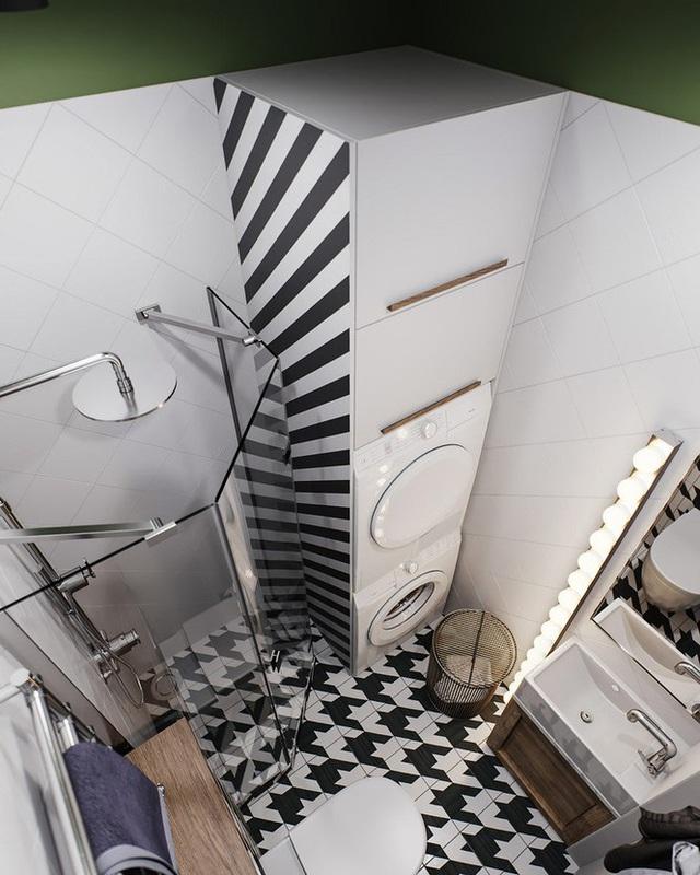 Vẻ đẹp khác lạ của căn chung cư có cách trang trí không giống ai - Ảnh 8.