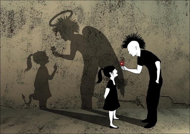 Cuộc sống hiện đại ngày càng mệt mỏi nên đừng vội phán xét người khác: Lời nói có thể tạo nên những vết thương tồn tại cả đời! - Ảnh 1.