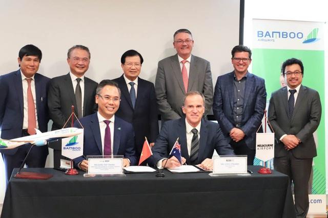Bamboo Airways hợp tác cùng sân bay Melbourne xúc tiến đường bay thẳng Việt Nam – Úc - Ảnh 1.