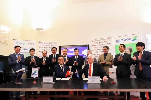 Bamboo Airways hợp tác cùng sân bay Melbourne xúc tiến đường bay thẳng Việt Nam – Úc - Ảnh 2.