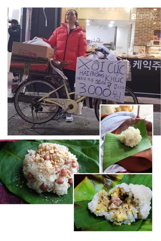 Món ăn đường phố Xôi lạc - bánh khúc đây bất ngờ xuất hiện ở Hàn Quốc với giá cao hơn ở Việt Nam gấp 3-4 lần - Ảnh 2.