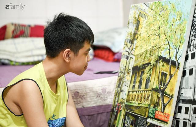 Cậu bé tự kỷ 14 tuổi mê tranh Van Gogh với bức tranh được đấu giá trăm triệu: Con sẽ trở thành họa sĩ nổi tiếng, sẽ mua nhà và cho mẹ đi du lịch - Ảnh 10.