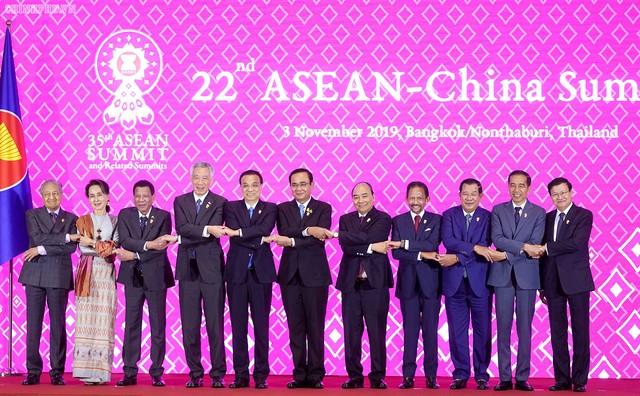 Chùm ảnh: Thủ tướng dự Hội nghị cấp cao ASEAN và gặp lãnh đạo các nước - Ảnh 5.