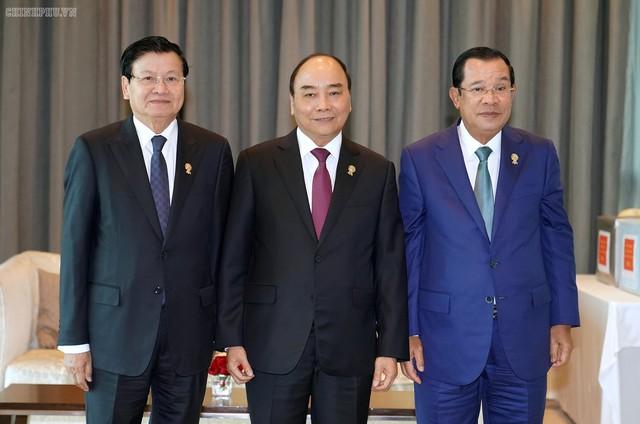 Chùm ảnh: Thủ tướng dự Hội nghị cấp cao ASEAN và gặp lãnh đạo các nước - Ảnh 7.