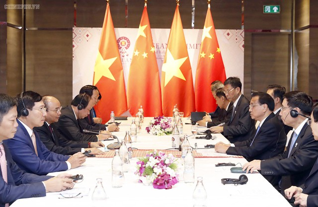 Chùm ảnh: Thủ tướng dự Hội nghị cấp cao ASEAN và gặp lãnh đạo các nước - Ảnh 8.