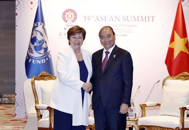 Chùm ảnh: Thủ tướng dự Hội nghị cấp cao ASEAN và gặp lãnh đạo các nước - Ảnh 9.