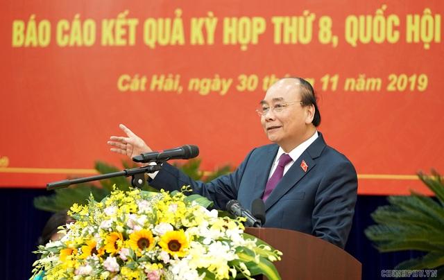 Hình ảnh Thủ tướng tiếp xúc cử tri Hải Phòng - Ảnh 6.
